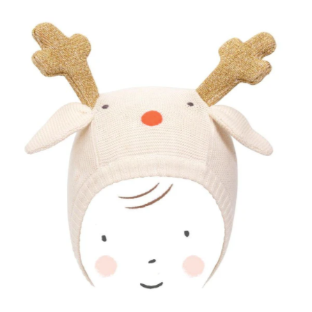 Reindeer Knitted Hat