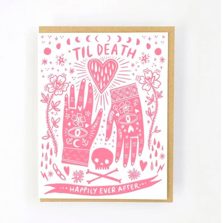 Til Death Happy Ever After Card -Wedding/Anniversary