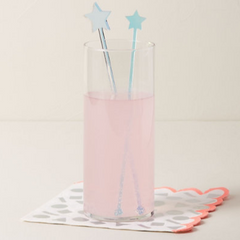 Star Iridescent Swizzle Sticks