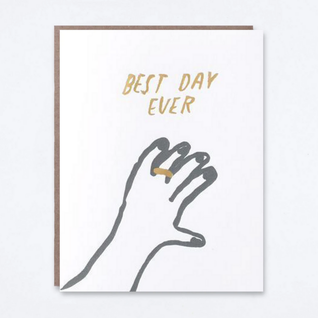 Best Day Ever Card -Wedding