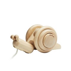 Pull-Along Snail Natural 18+m