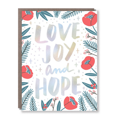 Love Joy and Hope -Holiday/New Year