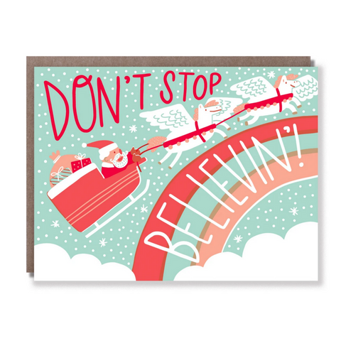 Don't Stop Believin' -Christmas