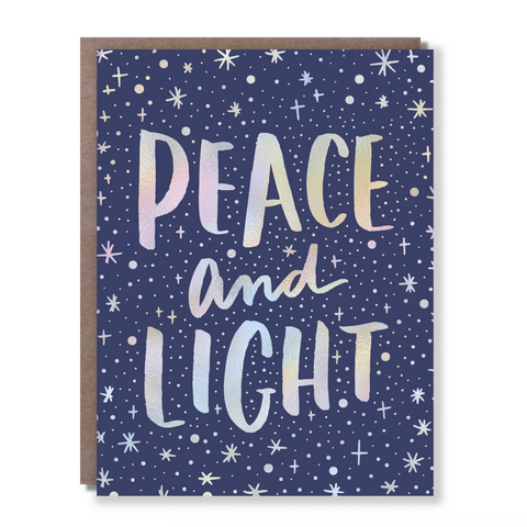 Peace and Light -Holiday