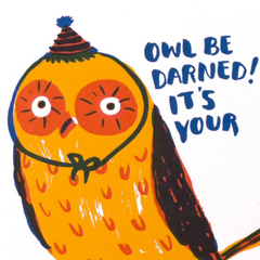 Owl Be Darned -Birthday