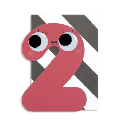 Googly Numbers 2 Years -Birthday