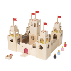 Castle + Horse + 4 People (store pick-up and san francisco delivery only)