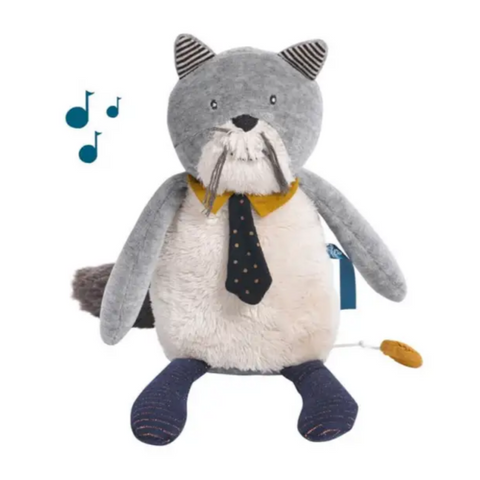 Mustaches Cat Musical Doll