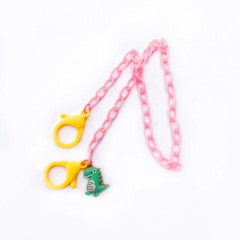 Kids Mask Chain -dinosaur