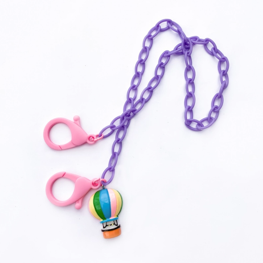 Kids Mask Chain -hot air balloon