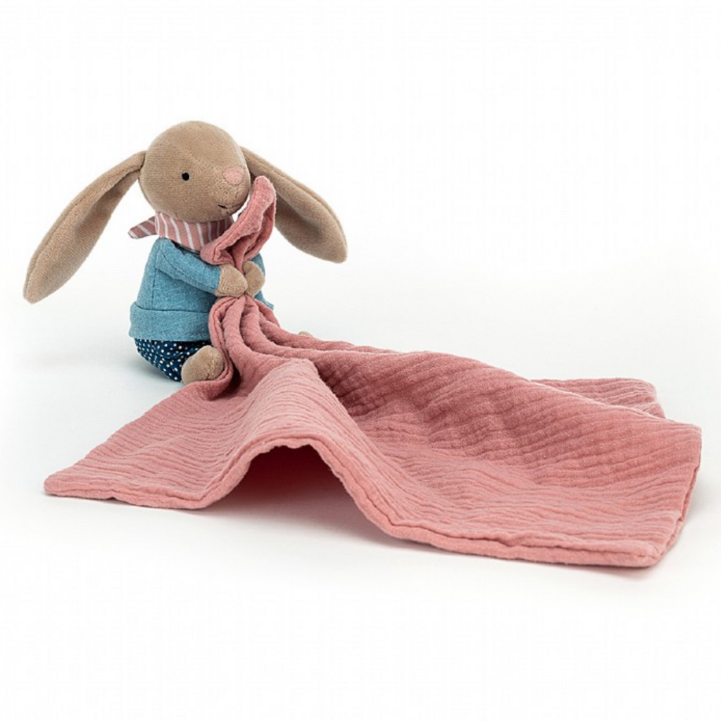Jellycat Little Rambler Bunny Soother Lovie