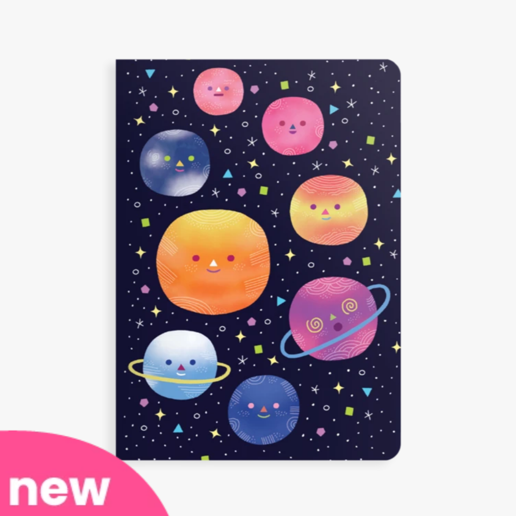 Jot It! Notebook: Planets