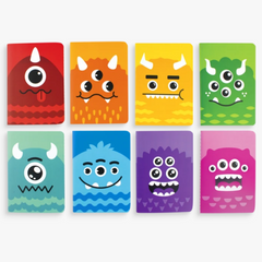 Mini Pocket Pal Journals: Monster (pk8)