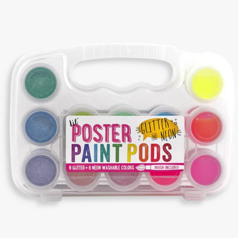 Poster Paint Pods Glitter & Neon