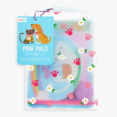 On-the-Go Travel Stationery Kit: Paw Pals -Hello