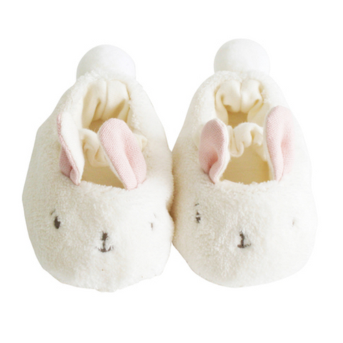 Snuggle Bunny Slippers -Pink (0-6mos)