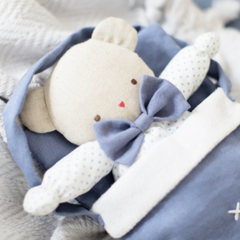 Carry Bag/Doll Bed Chambray Linen
