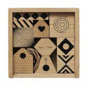 Wooden Family Stringing Blocks