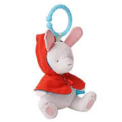Fairytale Rabbit Take Along Toy & Teether