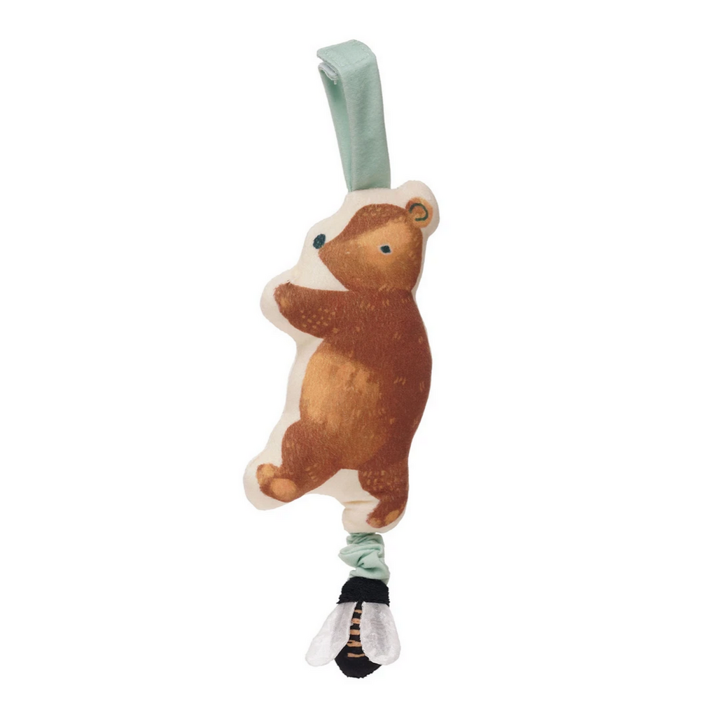 Bumble Bear Take Along Rattle Toy