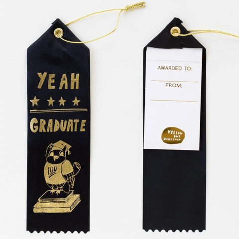 Yeah Graduate! Award Ribbon