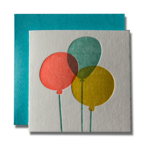 Tiny Card Balloons  -Birthday