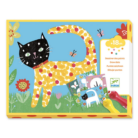 Small Dots Painting Kit 18mos-3yrs