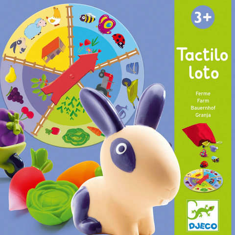 Farm Tactilo Loto Touch Discovery Game 3+yrs