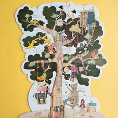My Tree Puzzle -Reversible 50pcs 5-8yrs