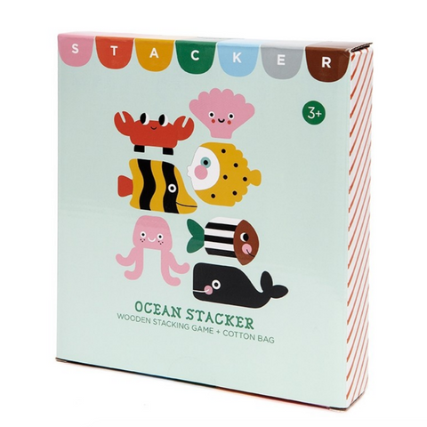 Wooden Ocean Stacker