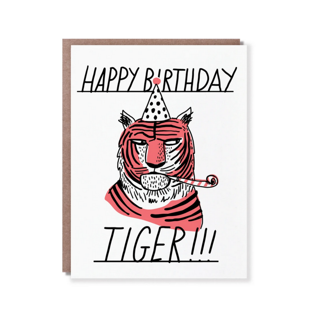 TIGER SIDE EYE-Birthday