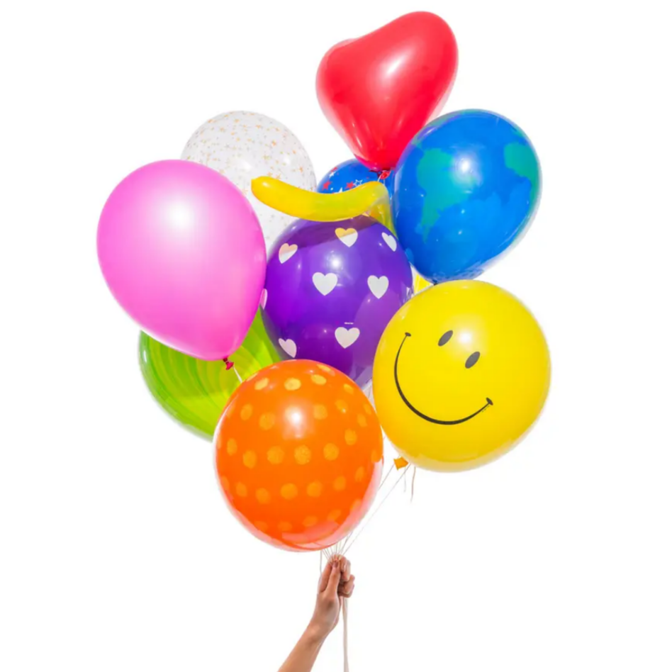 Mystery Party Balloons (pk12)