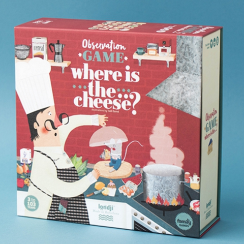 Where is the... Cheese? Observation Game 3+yrs