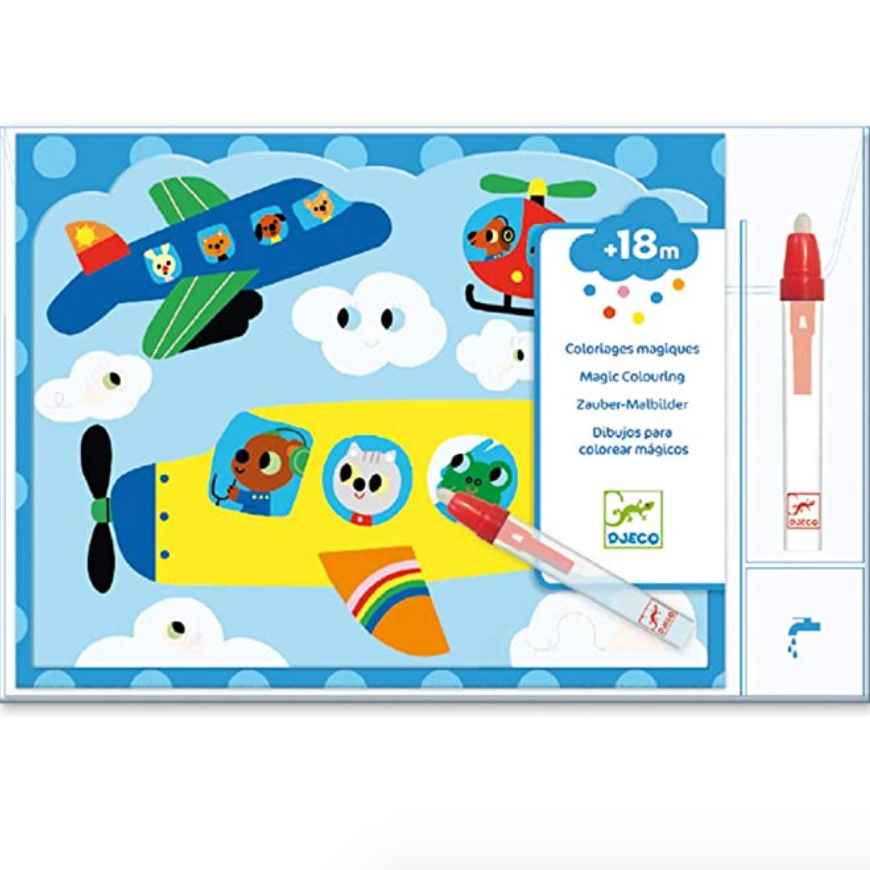 Up In The Air Hidden Sky Magic Coloring Kit 18mos-3yrs