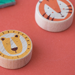 Lion & Tiger Tic Tac Toe 3-8yrs