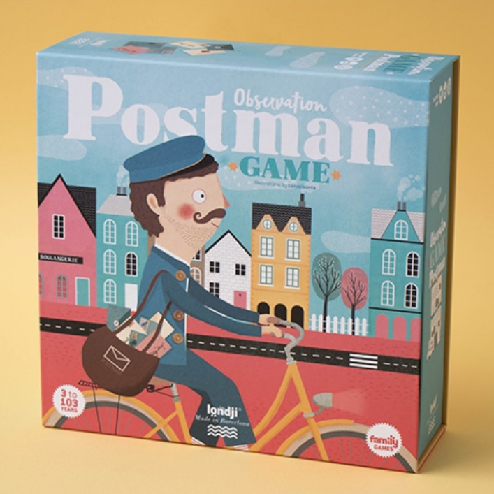 Postman: Observation Game 3+yrs