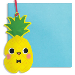 Inflatable Pineapple Card -Blank/Birthday