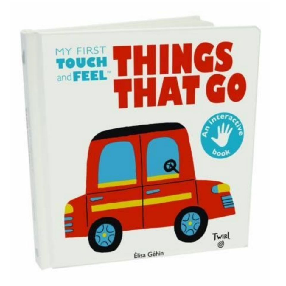 Things That Go -Touch and Feel Book (2-3yrs)