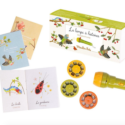Storybook Torch -Le Jardin with 3 Mini Books