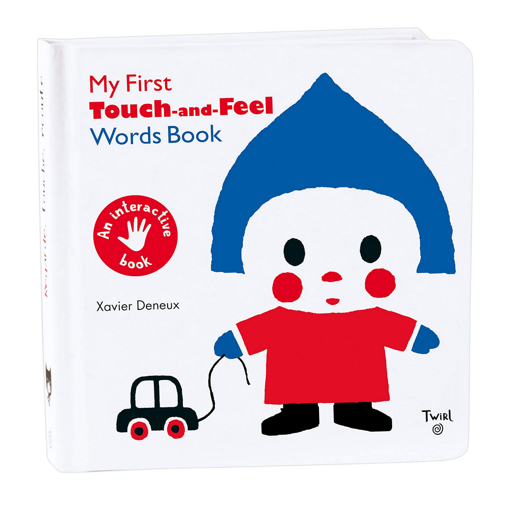 Words Book -Touch and Feel (2-3yrs)
