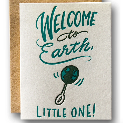 Welcome To Earth Little One-Baby