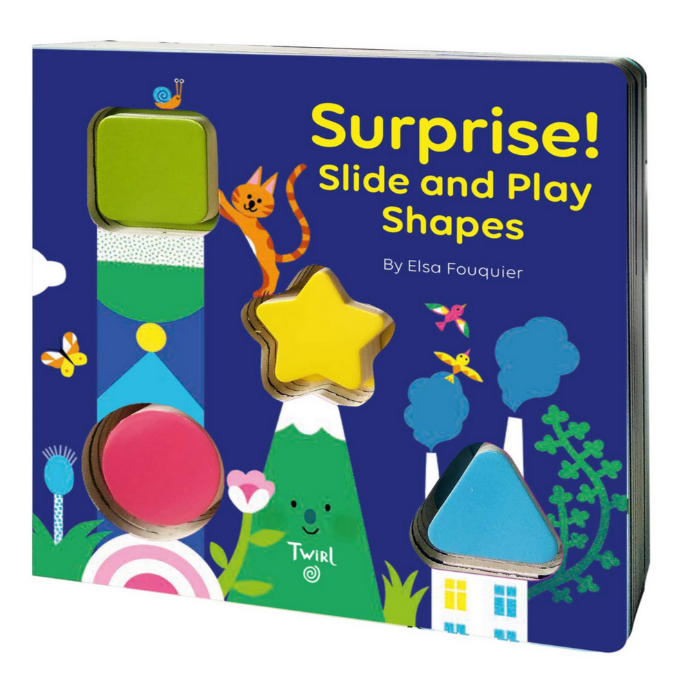 SURPRISE! Slide and Play Shapes (0-3yrs)