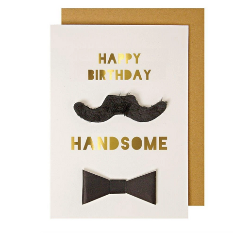 Happy Birthday Handsome Card-Birthday