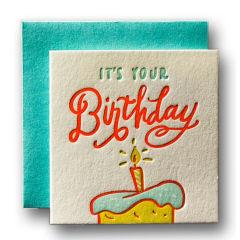 Tiny Card It's Your Birthday -Birthday