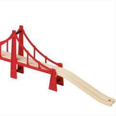 BRIO Railway Double Suspension Bridge