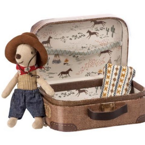 Cowboy in Suitcase Little Brother Mouse