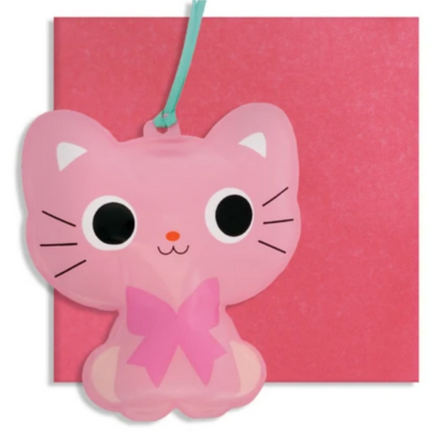 Inflatable Cat Card -Blank/Birthday