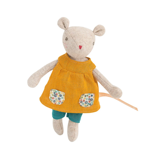 Groseille Mirabelle Mouse Doll