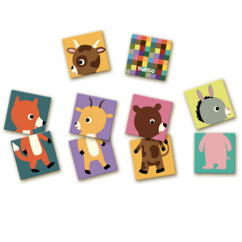 Animal Matching Game and Puzzle