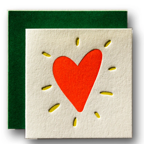 Tiny Card -Heart -Love